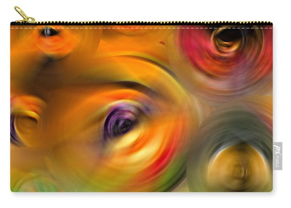 Heaven's Eyes - Abstract Art By Sharon Cummings Carry-all Pouch