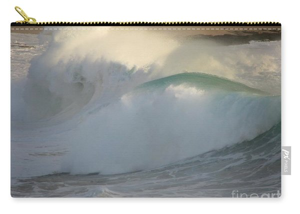 Heavy Surf At Carmel River Beach Carry-all Pouch