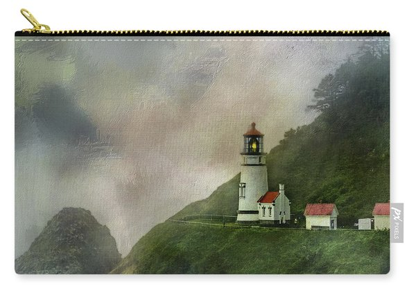 Heceta Head Lighthouse Florence Oregon Carry-all Pouch