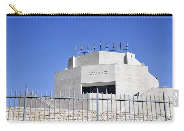 Hecht Synagogue Jerusalem Carry-all Pouch