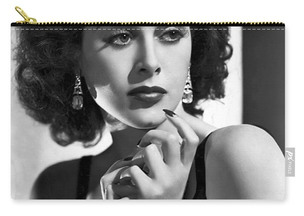 Hedy Lamarr - Beauty And Brains Carry-all Pouch