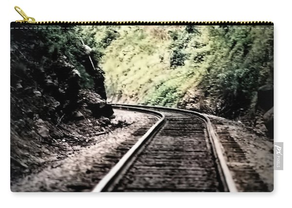 Hegia Burrow Railroad Tracks  Carry-all Pouch