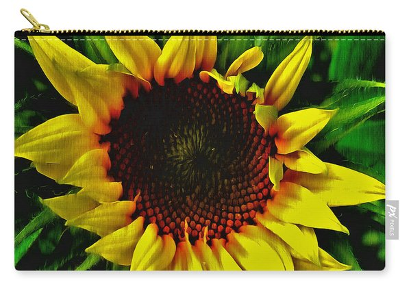 Helianthus Annus - Sunnydays Carry-all Pouch