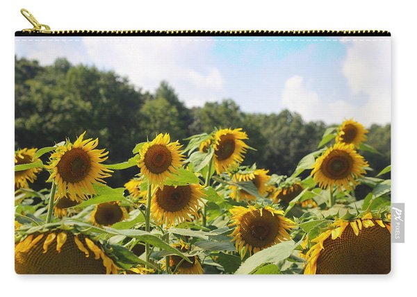 Helianthus Patch 4 Carry-all Pouch