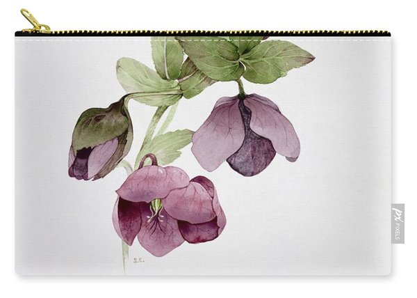 Helleborus Atrorubens Carry-all Pouch