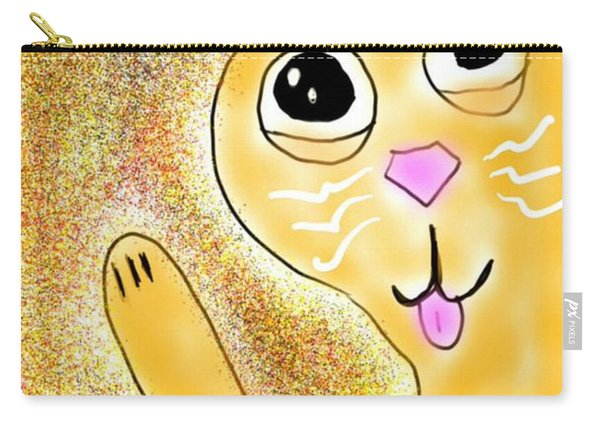 Hello Little Kitty Carry-all Pouch