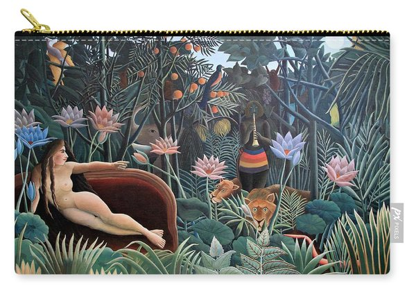 Henri Rousseau The Dream 1910 Carry-all Pouch