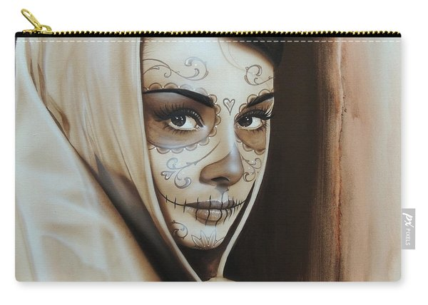 Hepburn De Los Muertos Carry-all Pouch