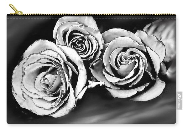 Her Roses Carry-all Pouch