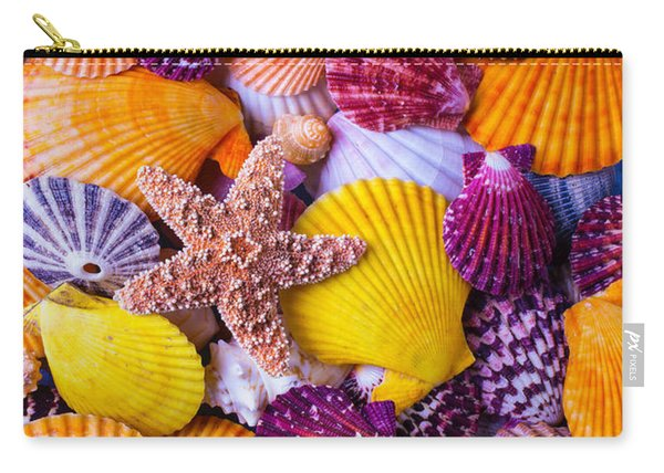 Her Sea Shells Carry-all Pouch