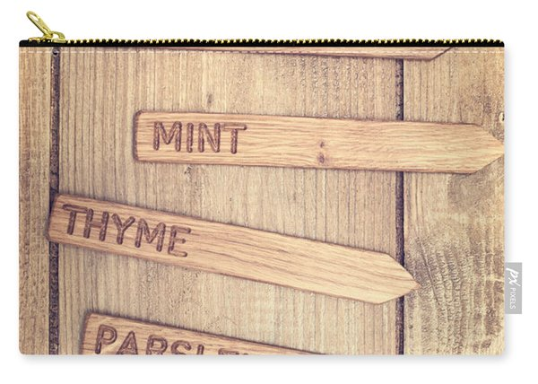 Herb Labels Carry-all Pouch