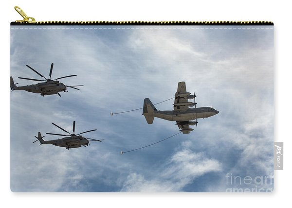 Hercules And Sea Stallions Carry-all Pouch