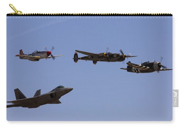 Heritage Flight Of Four Carry-all Pouch