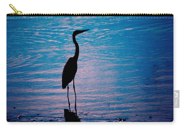 Herons Moment Carry-all Pouch