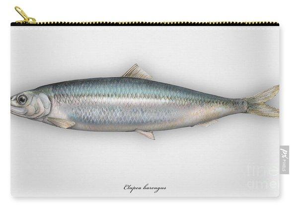 Herring  Clupea Harengus - Hareng - Arenque - Silakka - Aringa - Seafood Art Carry-all Pouch