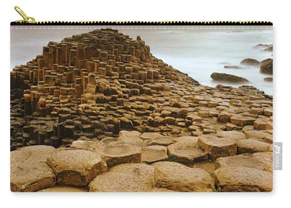 Hexagonal Rock At Giants Causeway Carry-all Pouch
