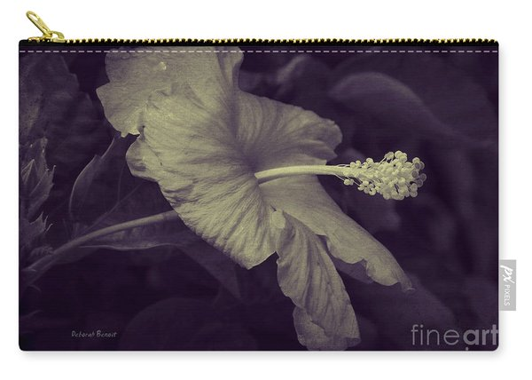 Hibiscus At Midnight Carry-all Pouch