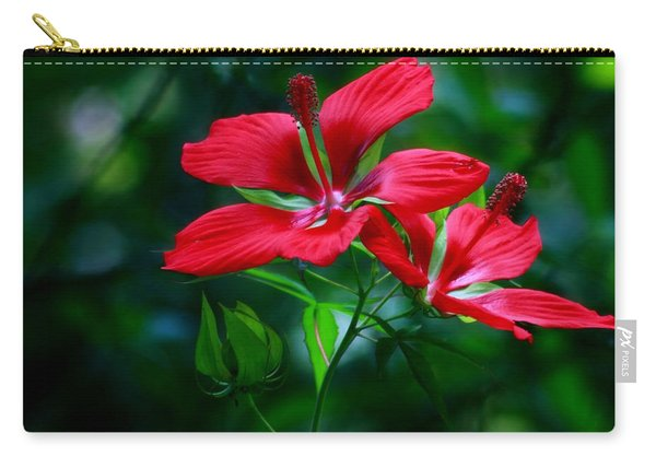 Hibiscus Coccineus Carry-all Pouch