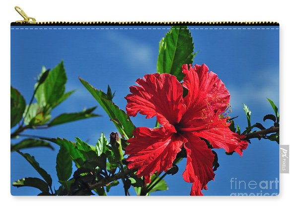 Hibiscus In The Sky Carry-all Pouch