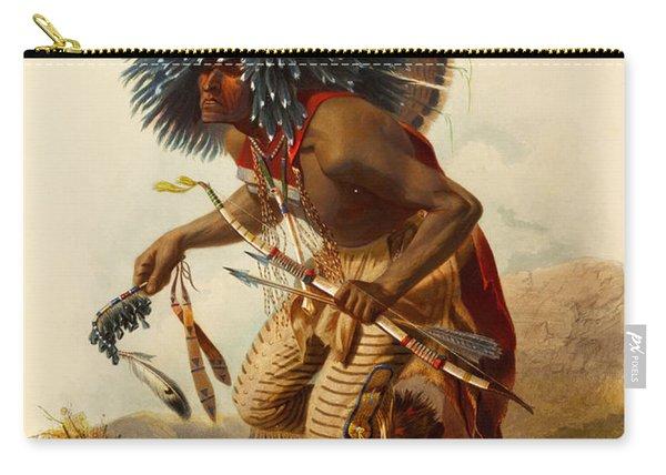 Hidatsa Warrior Carry-all Pouch