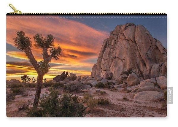 Hidden Valley Rock - Joshua Tree Carry-all Pouch