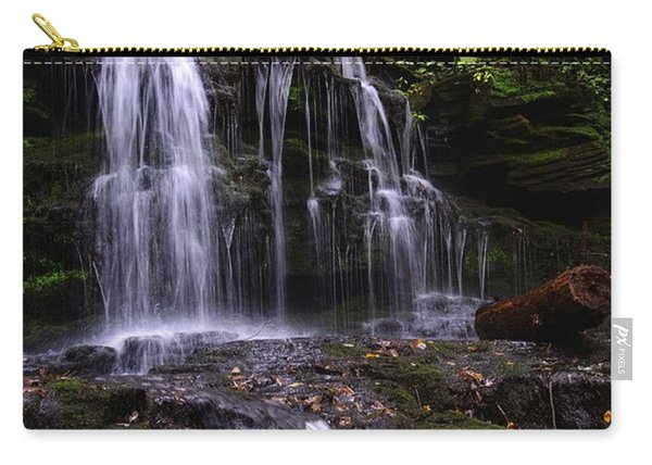 Hidden Waterfalls Of Wayne County I Carry-all Pouch