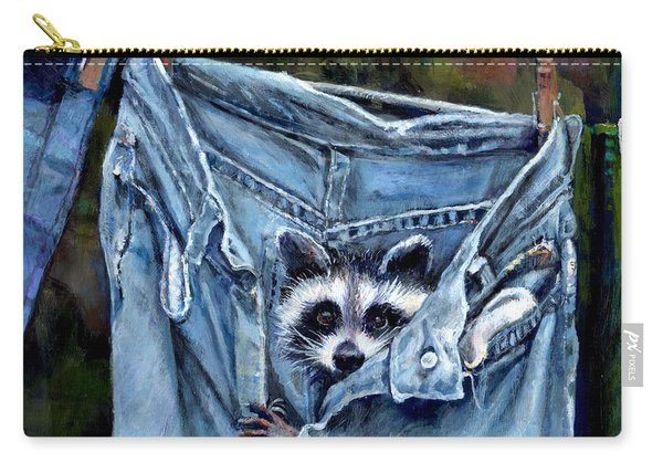 Hiding In My Jeans Carry-all Pouch