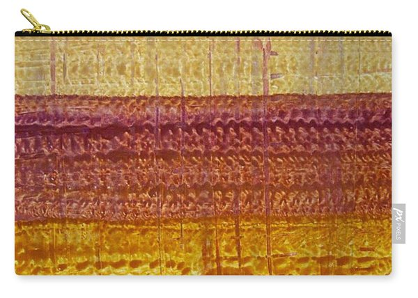 High Desert Horizon Original Painting Carry-all Pouch