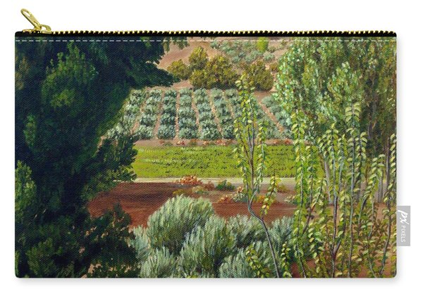 High Mountain Olive Trees  Carry-all Pouch