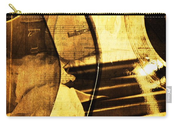 High On Music Carry-all Pouch