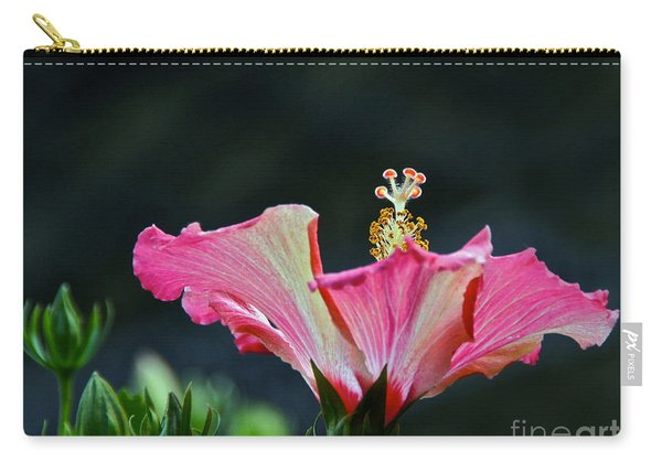 High Speed Hibiscus Flower Carry-all Pouch