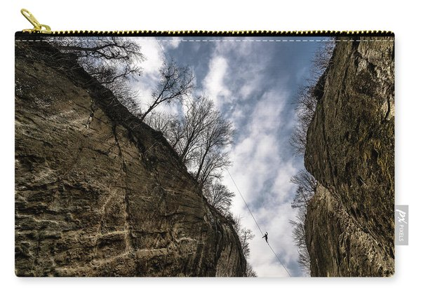 Highlining In Southern Bavaria Carry-all Pouch