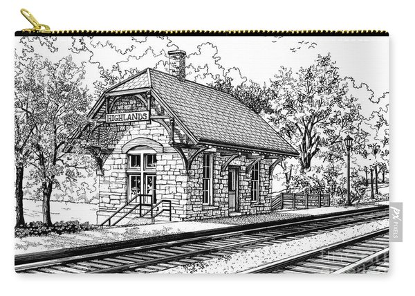 Highlands Train Station Carry-all Pouch