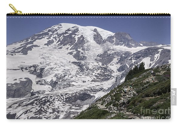 Hiking Mt Rainier Carry-all Pouch