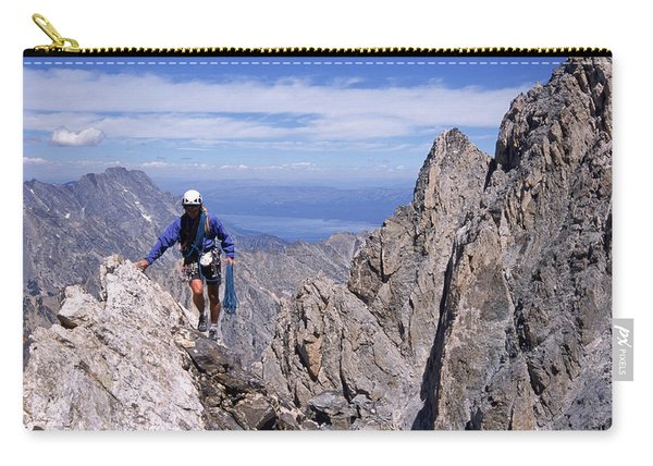 Hiking The Grand Tetons, Wy Usa Carry-all Pouch