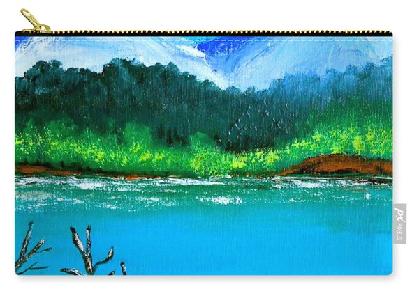 Hills By The Lake Carry-all Pouch