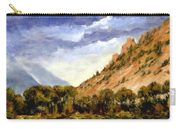 Hills Of Jackson Wyoming Carry-all Pouch