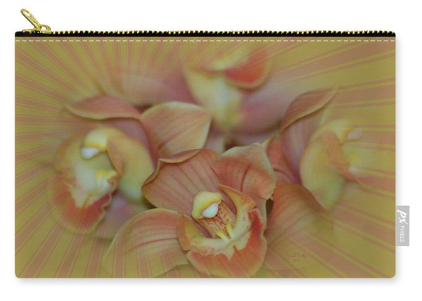 Hippy Orchid Carry-all Pouch
