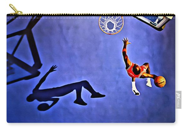 His Airness Michael Jordan Carry-all Pouch