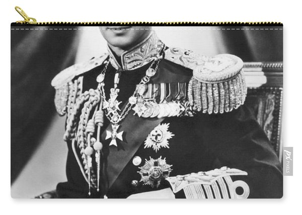His Majesty King George Vi Carry-all Pouch