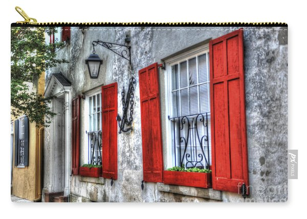 Historic Charleston Pirates House Carry-all Pouch