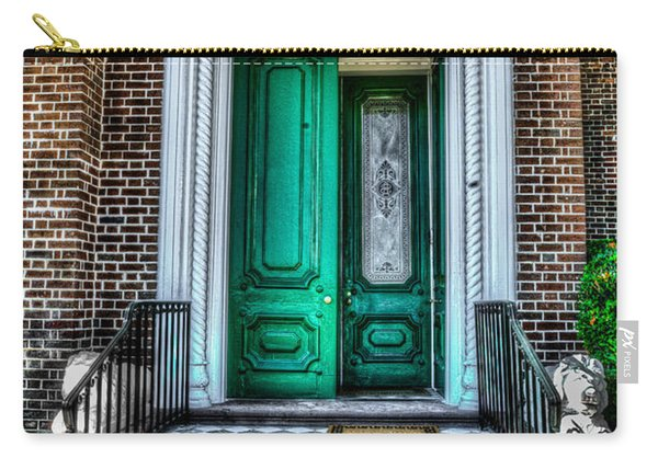 Historic Charleston Sc Door Carry-all Pouch