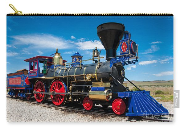 Historic Jupiter Steam Locomotive - Promontory Point Carry-all Pouch