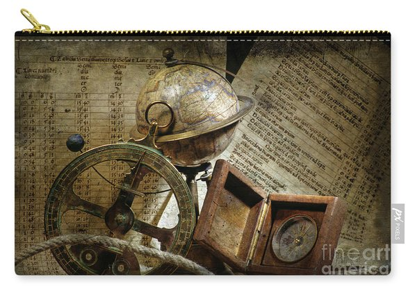 Historical Navigation Carry-all Pouch