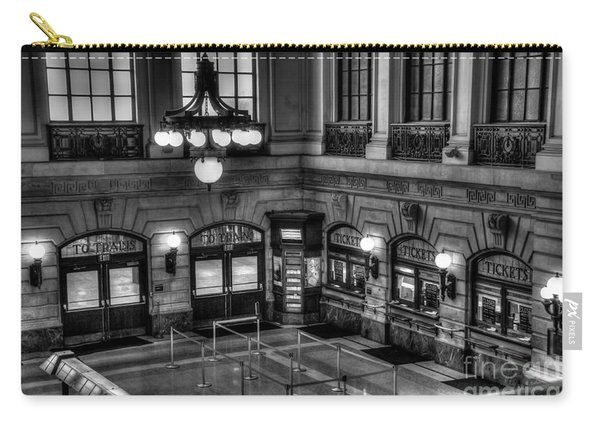 Hoboken Terminal Waiting Room Carry-all Pouch