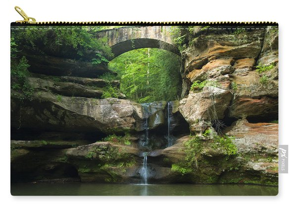 Hocking Hills Waterfall 1 Carry-all Pouch