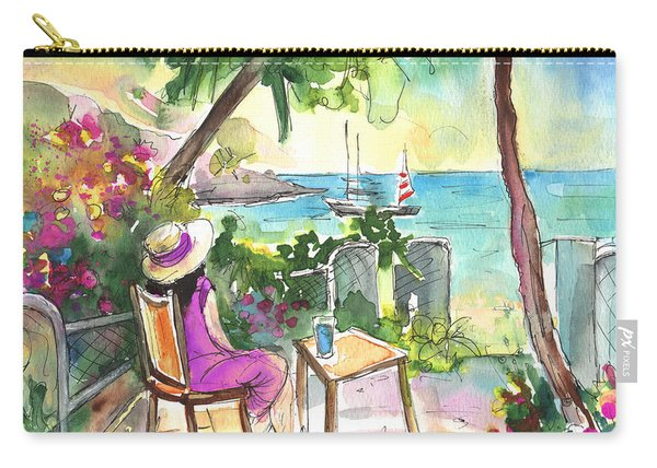 Holidays In Saint Martin Carry-all Pouch