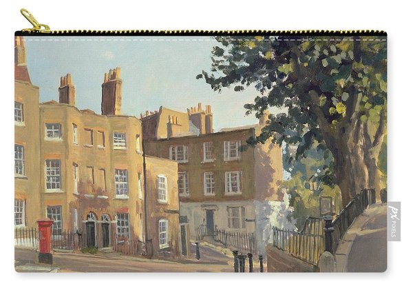 Holly Hill, Hampstead Oil On Canvas Carry-all Pouch