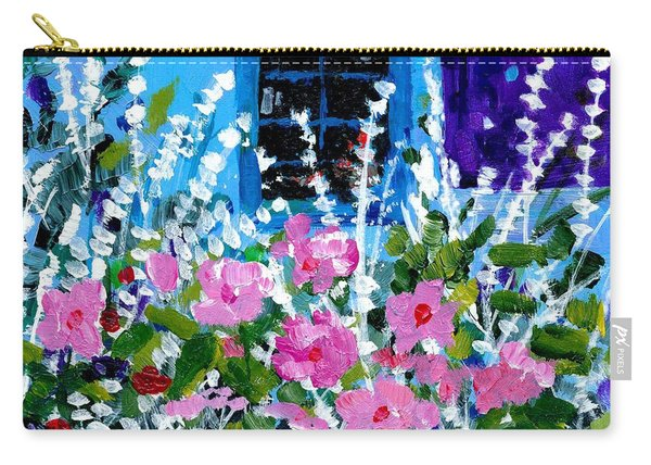 Hollyhock Alley  Carry-all Pouch