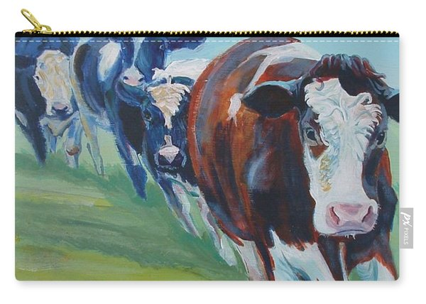 Holstein Friesian Cows Carry-all Pouch